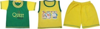Kabeer T-shirt Baby Boy's  Combo