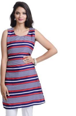 Addyvero Striped Women's Tunic