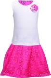Bio Kid Girls Casual Top Skirt (White)