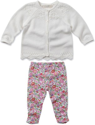 Dave & Bella Cardigan Baby Girl's  Combo