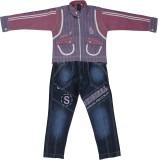 Sydney Boys Casual Shirt Jeans (Pink)