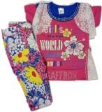 Kid n Kids Girls Dress (Pink)