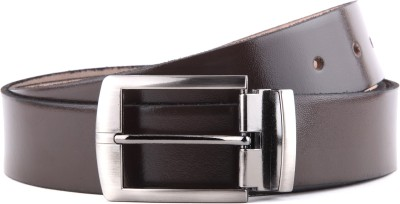 WildHide Men Formal Brown Genuine Leather Belt