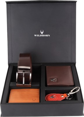 WildHorn Men, Women Casual, Formal Brown Genuine Leather Wallet