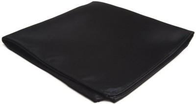 SG Apparels Solid Satin Pocket Square