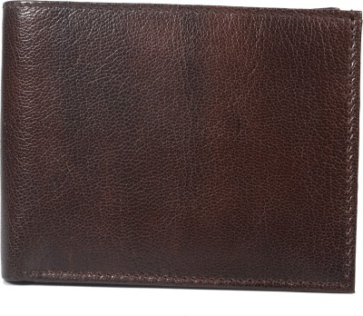 Oxter Men Casual Brown Genuine Leather Wallet