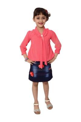 Arshia Fashions Dress Girl's  Combo