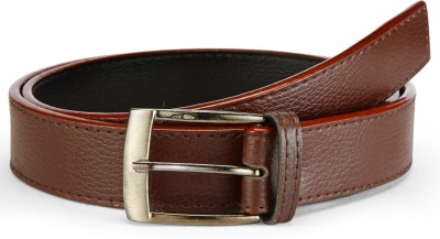 Arum Men Casual Brown Genuine Leather Belt
