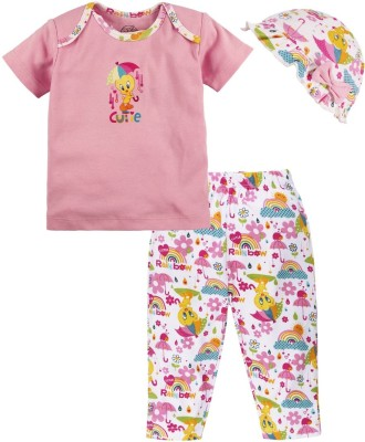 Warner Brothers T-shirt Baby Girl,s  Combo
