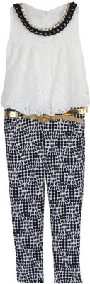 Arshia Fashions Jumpsuit Girl's  Combo