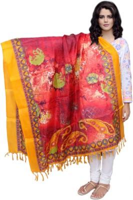 IndiWeaves Pure Silk Printed Women's Dupatta