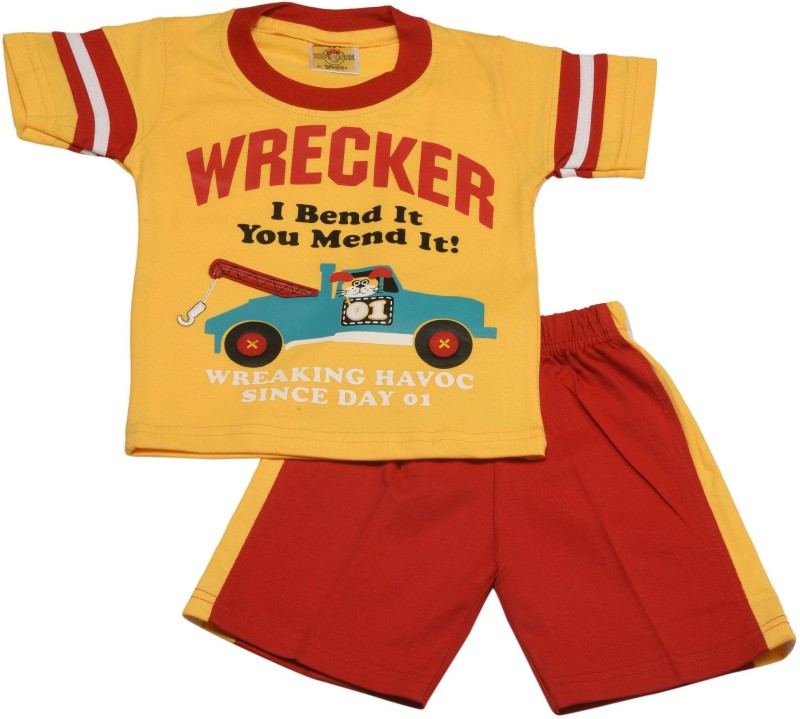 Kid's Care T-shirt Baby Boys  Combo