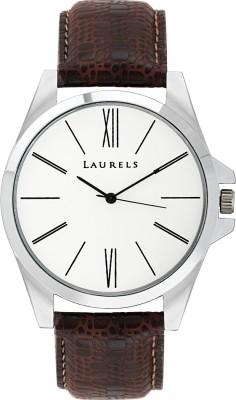 Laurels Lo-OM-0109 Opus Analog Watch  - For Men