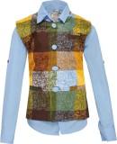 OKS Boys Boys Casual Shirt Jacket (Yello...