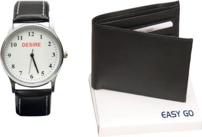 Desire Wrist Watch Men's  Combo
