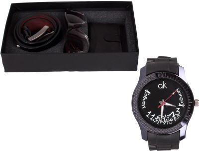 Mango People A Gift Set Wrist Watch Men's  Combo