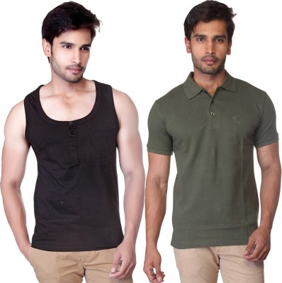 LUCfashion T-shirt Men's  Combo