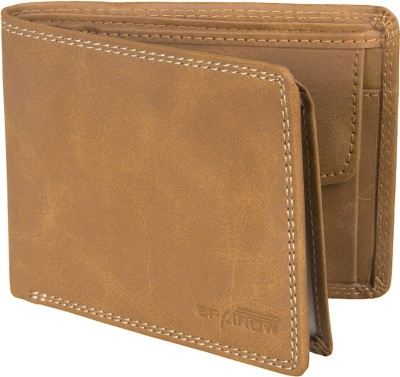 Spairow Men Tan Artificial Leather Wallet