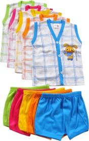 Harsha Boys Casual T-shirt Shorts(Multicolor)