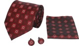 CorpWed Red Charm Tie Men's  Combo