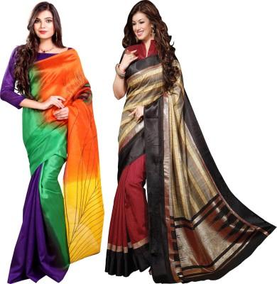 Glory Sarees Printed Daily Wear Art Silk Sari