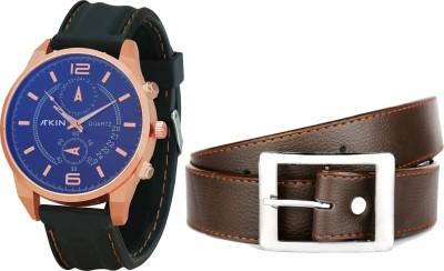Atkin Wrist Watch Men,s, Boy's  Combo