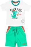 Wow Mom Boys Casual T-shirt (White)