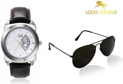Louis Geneve Wrist Watch Men's  Combo
