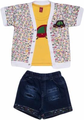 WoW Shirt Baby Boy's  Combo