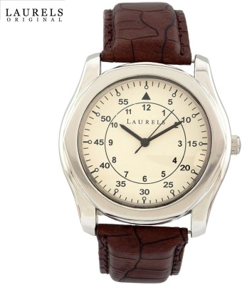 Laurels Lo-Gt-101 Gatsby Analog Watch  - For Men