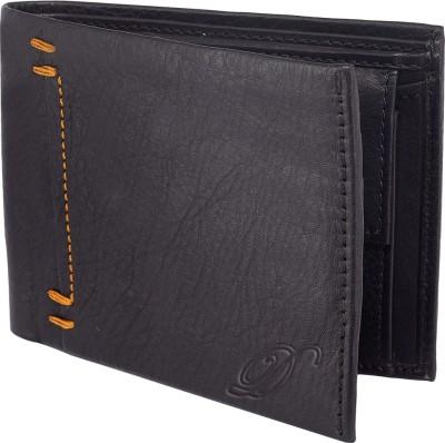 Dezine Men Black Genuine Leather Wallet