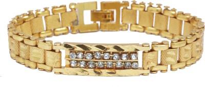 Sondagar Arts Brass Cubic Zirconia Bracelet