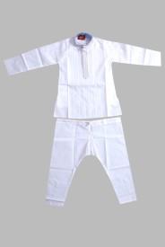 Gowri Online Boys Pyjama(White)