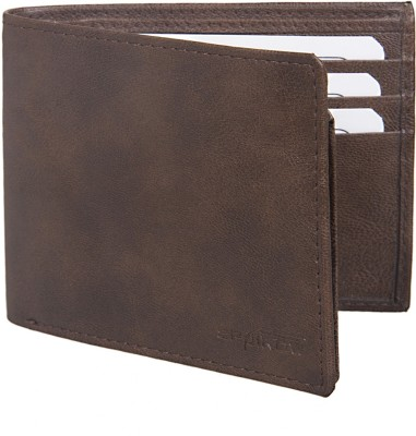 Spairow Men Brown Artificial Leather Wallet