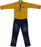 Sydney Boys Casual Shirt Jeans (Yellow)