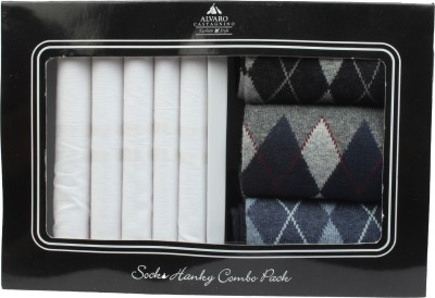 Alvaro Handkerchief Men's  Combo