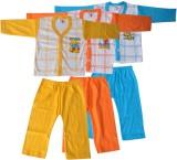 Harsha Boys Casual T-shirt Trouser (Yell...