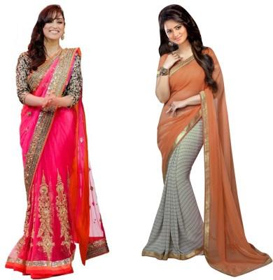 butterflysaree Printed Bollywood Georgette Sari