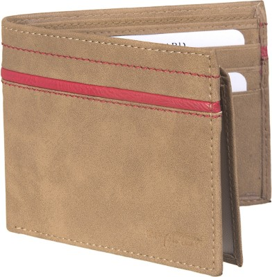 Spairow Men Beige Artificial Leather Wallet