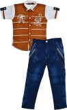 Color Kids Boys Casual Shirt T-shirt (Br...
