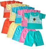 Harsha Boys Casual T-shirt Shorts (Multi...