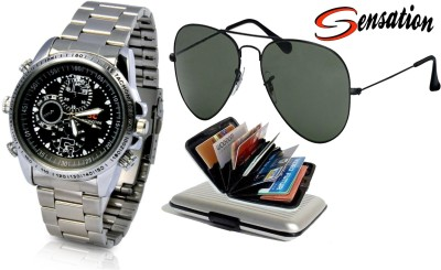 Sensation Wrist Watch Men's  Combo