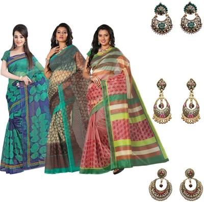 Lookslady Sari Women's  Combo