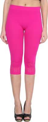 NumBrave Women's Pink Capri