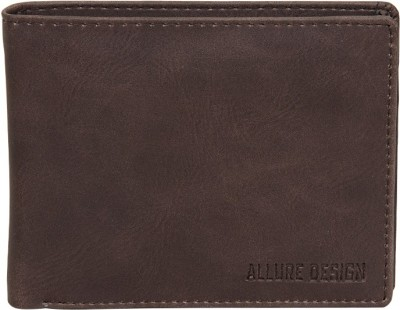 ALLURE DESIGN Men Brown Artificial Leather Wallet