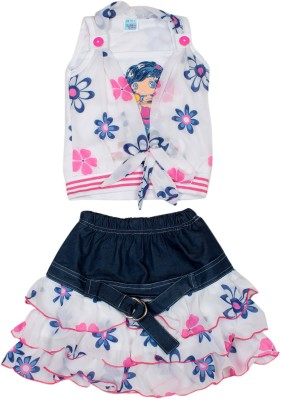 Honeybum Skirt Girl's  Combo