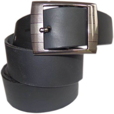 Good Life Stuff Men Formal Black Genuine Leather Belt