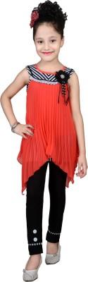 Angel Creations Dress Girl's  Combo