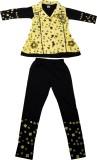 Yashasvi Girls Casual T-shirt (Yellow)