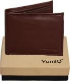 YuniiQ Men Brown Artificial Leather Wall...